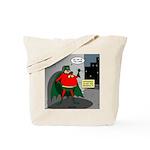 Aging Superheros Tote Bag