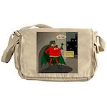 Aging Superheros Messenger Bag