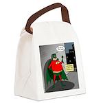 Aging Superheros Canvas Lunch Bag