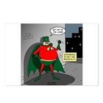 Aging Superheros Postcards (Package of 8)