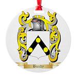 Bundy Round Ornament