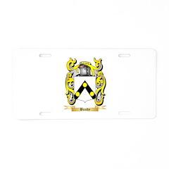 Bundy Aluminum License Plate