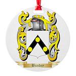 Bundey Round Ornament