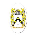 Bundey 20x12 Oval Wall Decal