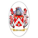Bullock Sticker (Oval 10 pk)