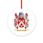 Bullock Ornament (Round)
