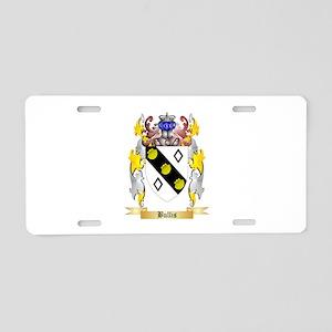 Bullis Aluminum License Plate