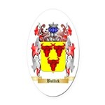 Bullick Oval Car Magnet