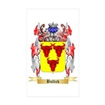 Bullick Sticker (Rectangle 50 pk)