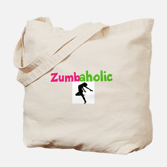 Zumbaholic Tote Bag