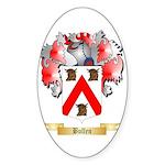 Bullen Sticker (Oval)