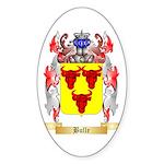 Bulle Sticker (Oval 50 pk)