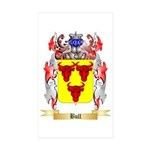 Bull Sticker (Rectangle 50 pk)