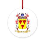 Bull Ornament (Round)