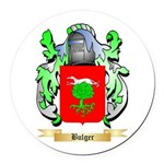 Bulger Round Car Magnet