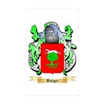 Bulger Sticker (Rectangle 10 pk)