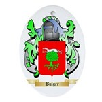 Bulger Ornament (Oval)