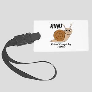 Run! Large Luggage Tag