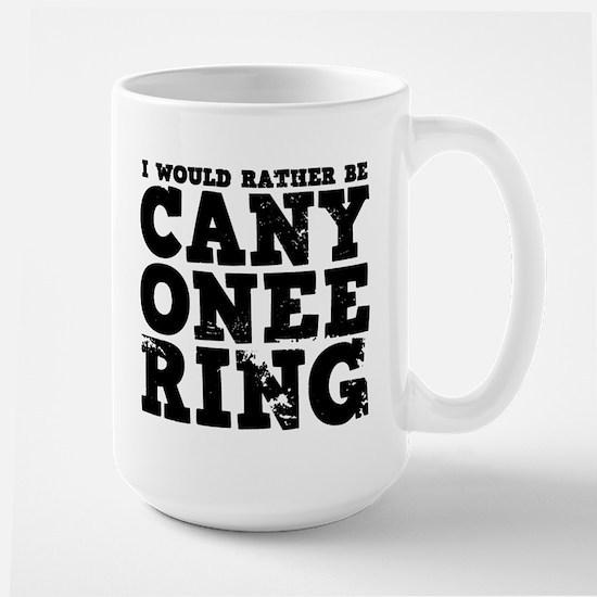 'Canyoneering' Large Mug