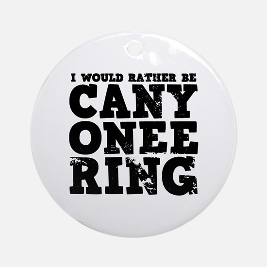 'Canyoneering' Ornament (Round)