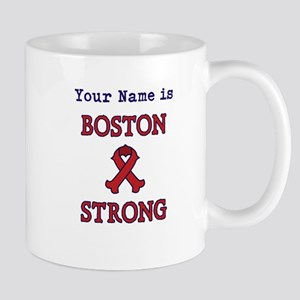 Boston Strong Ribbon Lt - Personalized! Mug