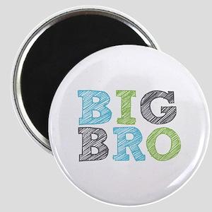 Sketch Style Big Bro Magnet