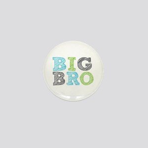 Sketch Style Big Bro Mini Button