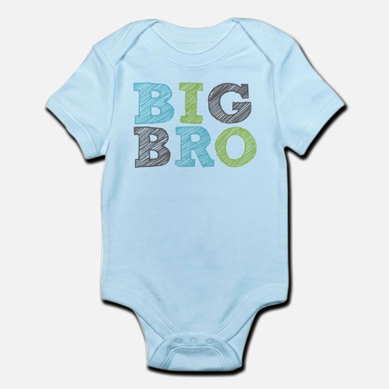 Sketch Style Big Bro Body Suit
