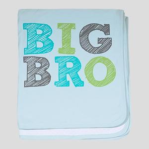 Sketch Style Big Bro baby blanket