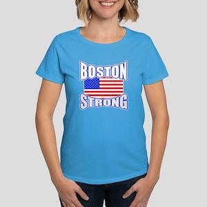 oston Strong proud Women's Dark T-Shirt