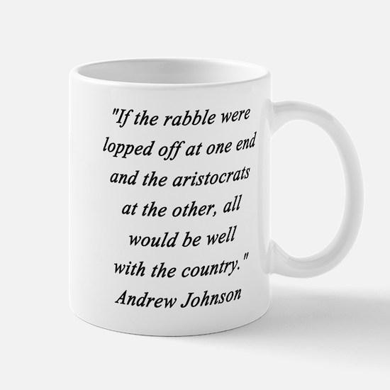 Johnson - Rabble Aristocrats Mug
