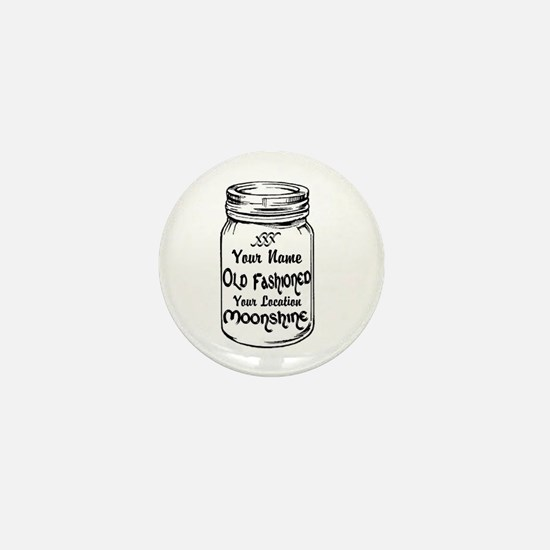 Custom Moonshine Mini Button