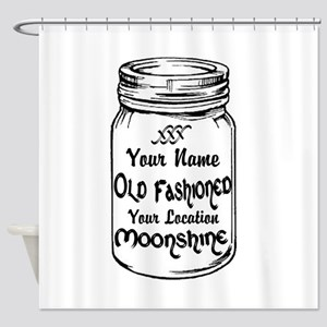 Custom Moonshine Shower Curtain