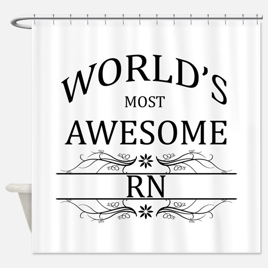 World's Most Awesome RN Shower Curtain
