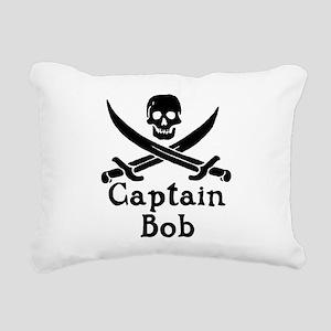 Captain Bob Rectangular Canvas Pillow