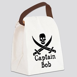 Captain Bob Canvas Lunch Bag