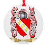 Buksboim Round Ornament