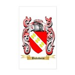 Buksboim Sticker (Rectangle)