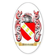 Buksbaum Sticker (Oval)