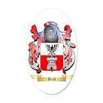 Buhl Oval Car Magnet