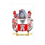 Buhl Sticker (Rectangle 50 pk)