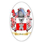 Buhl Sticker (Oval 50 pk)