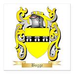 Bugge Square Car Magnet 3