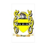 Bugge Sticker (Rectangle 50 pk)