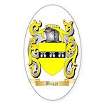Bugge Sticker (Oval 10 pk)