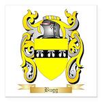 Bugg Square Car Magnet 3