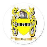 Bugg Round Car Magnet