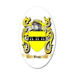 Bugg 20x12 Oval Wall Decal