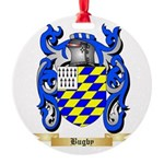 Bugby Round Ornament