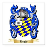 Bugby Square Car Magnet 3